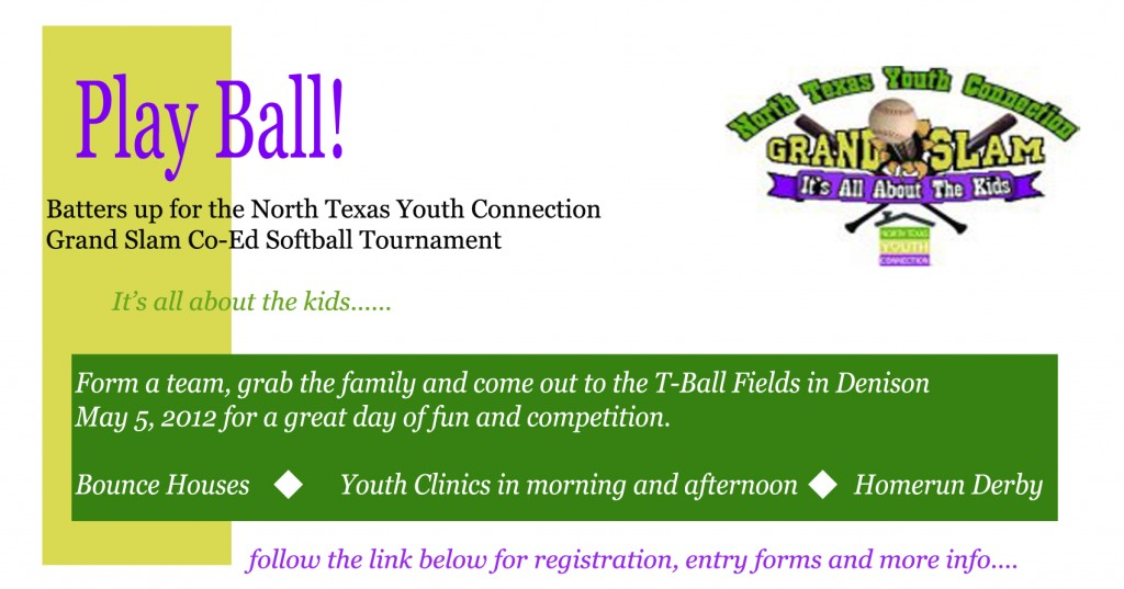 North Texas Youth Connection Softball Tournament