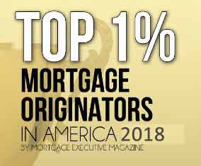 Top 1% Mortgage Originators 2018