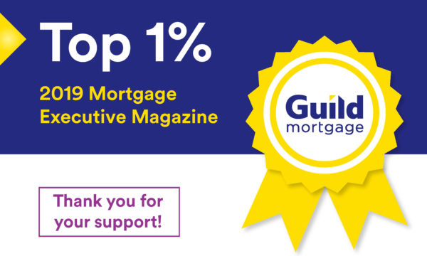 Top 1% Mortgage Originators 2019